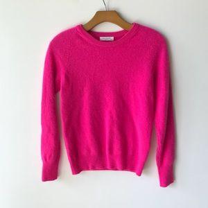 Equipment Cashmere Sweater Sloane Hot Pink Crew